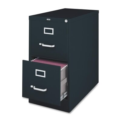 Lorell 2-Drawer Vertical File Cabinet