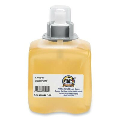 Genuine Joe Antibacterial Soap Refill, Orange