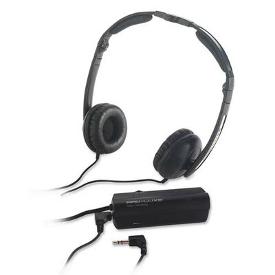Compucessory Compucessory Foldable Noise Canceling Headphones, Black