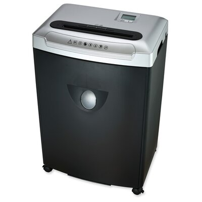Compucessory Compucessory Small/Medium Size Cross Cut Shredder, Black/silver
