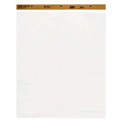 Nature Saver Recycled Plain Easel Pads, White