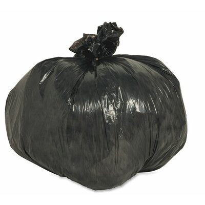 Nature Saver 10 Gallon Recycled Trash Bags, 0.85 mil, 500 per Box