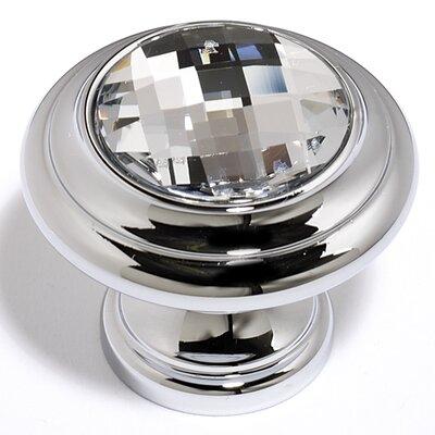 "Alno Inc Swarovski Crystal 1.13"" Round Knob"
