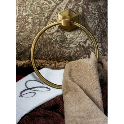 Alno Inc Nicole Towel Ring