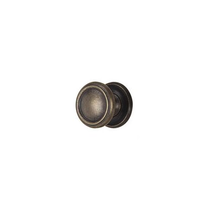 "Alno Inc Traditional 1.25"" Solid Brass Knob"
