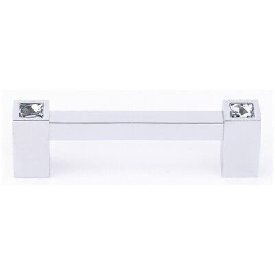 "Alno Inc Swarovski Crystal 3.5"" Bar Pull"