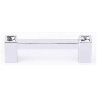 "Alno Inc Swarovski Crystal 3.5"" Bar Pull"