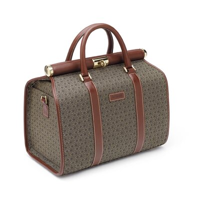 Hartmann Wings Cosmetic Case in Cognac