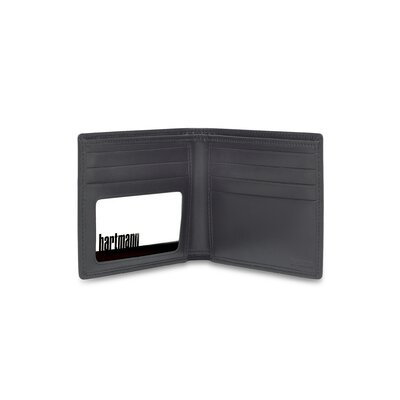 Capital Leather Billfold in Black