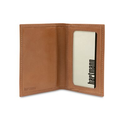 Hartmann J Hartmann Reserve Card Case in Natural