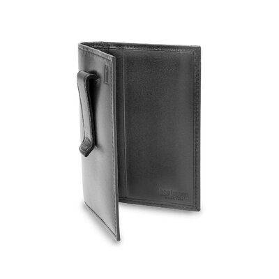 Capital Leather All-in-One Wallet in Black