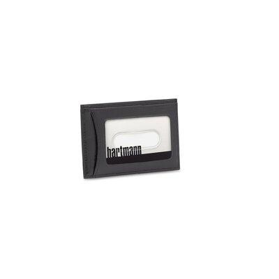 Hartmann Capital Leather Weekend Wallet in Black