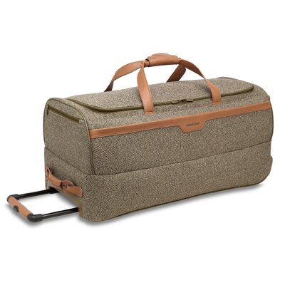 "Hartmann Tweed 30"" 2-Wheeled Mobile Travel Duffel in Walnut"