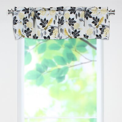 Small Talk Blackbird Rod Pocket Cotton Curtain Valance