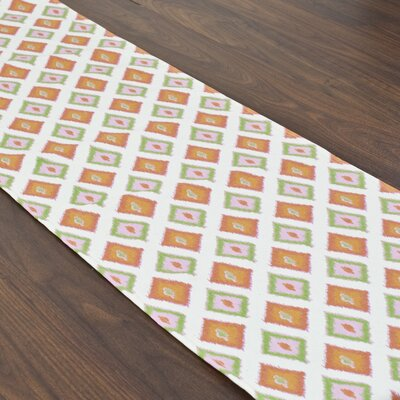 Chooty & Co Carnival Gumdrop Topstitched Table Runner