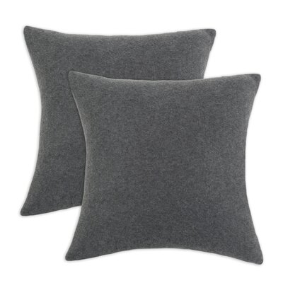 Chooty & Co Fleece Simply Soft D-Fiber Pillow (Set of 2)