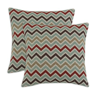 Chooty & Co Zoom Zoom Denton Fiber Pillow (Set of 2)