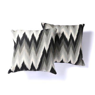 Chooty & Co Coram Ebony Fiber Pillow