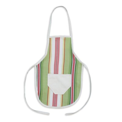 Andari Stripe Cotton Pocket Apron