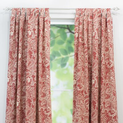 Chooty & Co Mardi Gras Cotton Tab Top Curtain Panel
