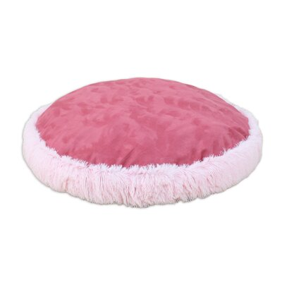 Shaggy Round Dog Pillow