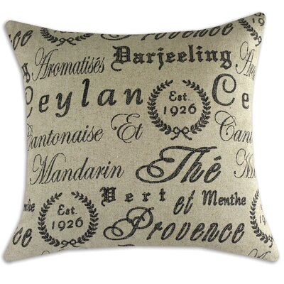 Tea House Linen Pillow