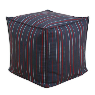 Stripe Seamed Beads Hassock