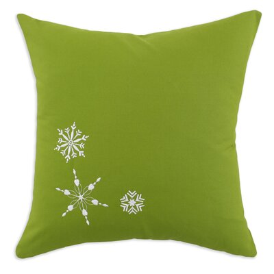 Chooty & Co Nile 3 Embroidered Snowflake Pillow