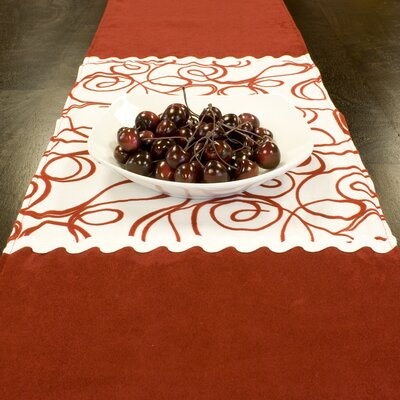 Passion Suede Joker Table Runner