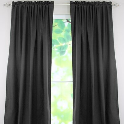 Chooty & Co Duck Cotton Rod Pocket Curtain Single Panel