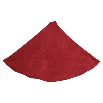 Passion Suede Hemmed Tree Skirt