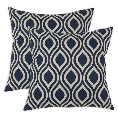 <strong>Chooty & Co</strong> Nichole Cotton Pillow (Set of 2)