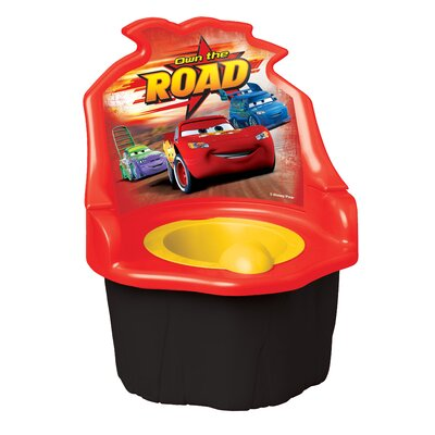 Ginsey Disney Cars Three-in-One Potty Trainer
