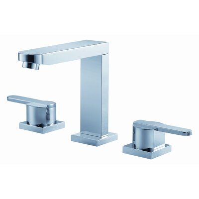 Wisdom Widespread Bathroom Faucet with Double Lever Handles - F28006