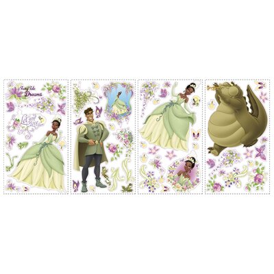 Room Mates Licensed Designs The Princess and The Frog Wall Decal