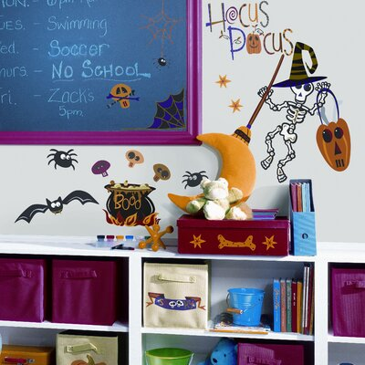 Room Mates Halloween Peel and Stick Wall Sticker