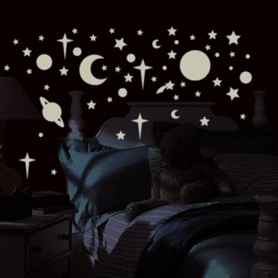 Room Mates Studio Designs 258 Piece Celestial Wall Decal Set