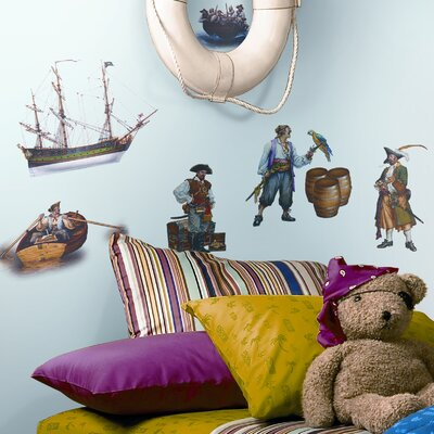 Room Mates Studio Designs Pirate Wall Decal
