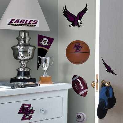 Room Mates Collegiate Sports Appliqué Boston College Wall Decal