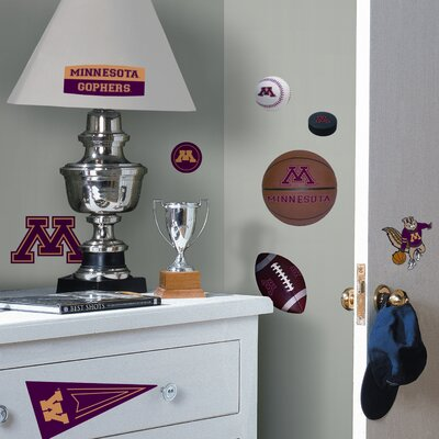 Room Mates Collegiate Sports Appliqué University of Minnesota Wall Decal