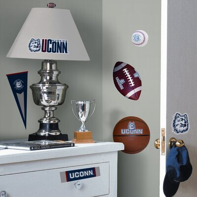 Room Mates Collegiate Sports Appliqué University of Connecticut Wall Decal