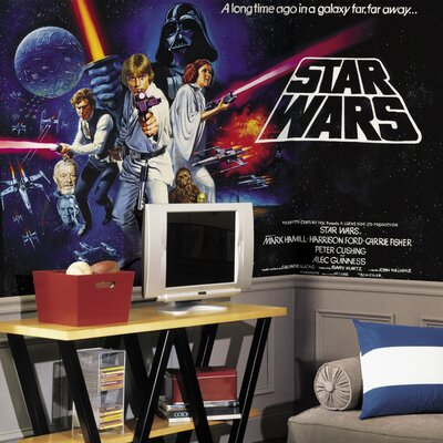 Room Mates Extra Large Murals Star Wars Wall Decal