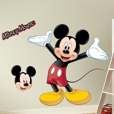 Room Mates Licensed Designs Mickey Mouse Wall Decal