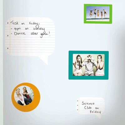 Room Mates Deco Notepad Dry Erase Wall Decal