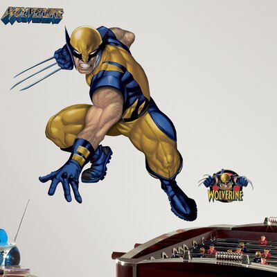Room Mates Licensed Designs Wolverine Giant Wall Decal