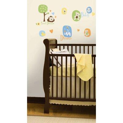 Room Mates Modern Baby Wall Decal