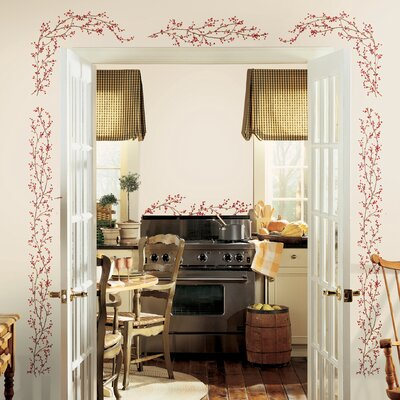 Room Mates Berry Vine Wall Decal