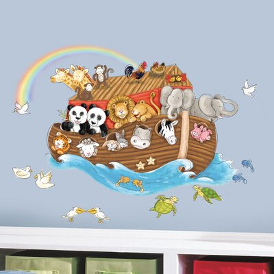 Room Mates Noah's Ark Giant Wall Decal