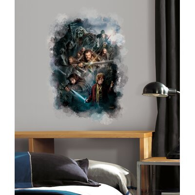 Room Mates Peel & Stick The Hobbit Cast Ensemble Wall Decal