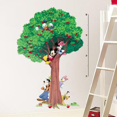 Room Mates Licensed Designs Mickey and Friends Growth Chart